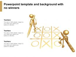 Powerpoint Template And Background With No Winners