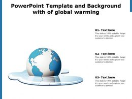 Powerpoint Template And Background With Of Global Warming