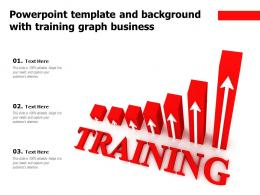 Powerpoint Template And Background With Training Graph Business