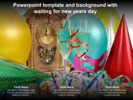 Powerpoint Template And Background With Waiting For New Years Day