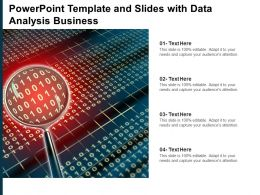 Powerpoint Template And Slides With Data Analysis Business