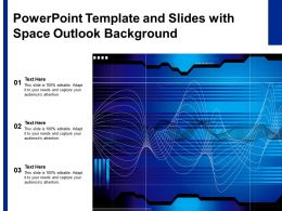 Powerpoint Template And Slides With Space Outlook Background