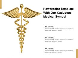 Powerpoint Template With Our Caduceus Medical Symbol