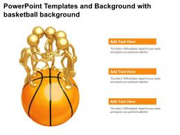 Powerpoint Templates And Background With Basketball Background