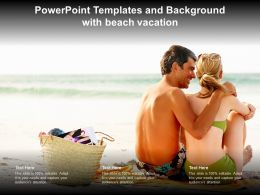Powerpoint Templates And Background With Beach Vacation