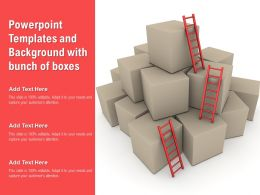 Powerpoint Templates And Background With Bunch Of Boxes