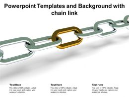 Powerpoint Templates And Background With Chain Link