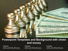 Powerpoint Templates And Background With Chess And Money