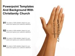 Powerpoint Templates And Background With Christianity Church