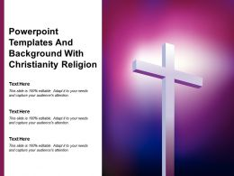 Powerpoint Templates And Background With Christianity Religion