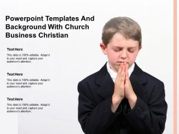 Powerpoint Templates And Background With Church Business Christian