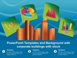 Powerpoint Templates And Background With Corporate Buildings With Stock