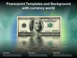 Powerpoint Templates And Background With Currency World