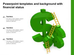 Powerpoint Templates And Background With Financial Status