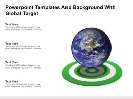 Powerpoint Templates And Background With Global Target