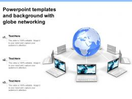 Powerpoint Templates And Background With Globe Networking