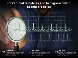 Powerpoint Templates And Background With Healthcare Pulse