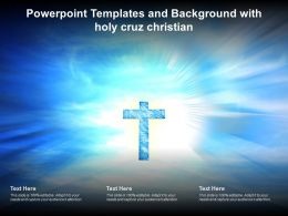 Powerpoint Templates And Background With Holy Cruz Christian
