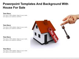Powerpoint Templates And Background With House For Sale