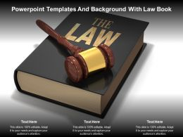 Powerpoint Templates And Background With Law Book