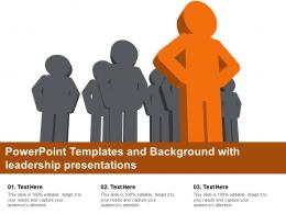 Powerpoint Templates And Background With Leadership Presentations