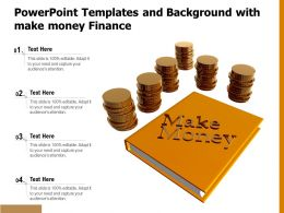 Powerpoint Templates And Background With Make Money Finance