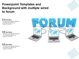 Powerpoint Templates And Background With Multiple Wired To Forum