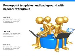 Powerpoint Templates And Background With Network Workgroup