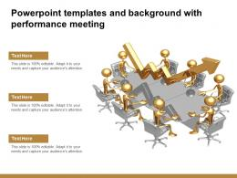 Powerpoint Templates And Background With Performance Meeting