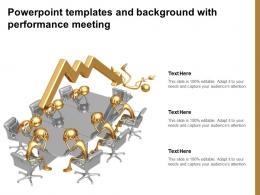 Powerpoint Templates And Background With Performance Meetings