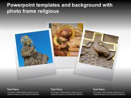 Powerpoint Templates And Background With Photo Frame Religious