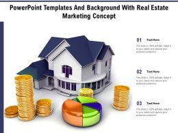 Powerpoint Templates And Background With Real Estate Marketing Concept