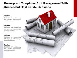 Powerpoint Templates And Background With Successful Real Estate Business