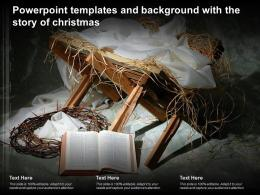 Powerpoint Templates And Background With The Story Of Christmas