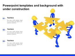 Powerpoint Templates And Background With Under Construction