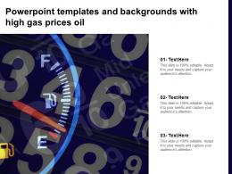 Powerpoint Templates And Backgrounds With High Gas Prices Oil