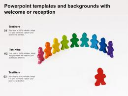 Powerpoint Templates And Backgrounds With Welcome Or Reception