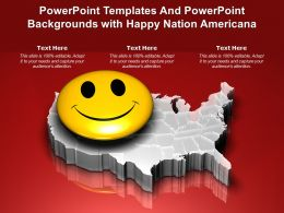 Powerpoint Templates And Powerpoint Backgrounds With Happy Nation Americana
