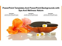 Powerpoint Templates And Powerpoint Backgrounds With Spa And Wellness Nature