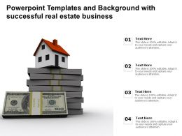Powerpoint Templates And With Successful Real Estate Business Ppt Powerpoint