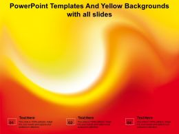 Powerpoint Templates And Yellow Backgrounds With All Slides