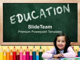 Powerpoint Templates Download Education Children Image Ppt Slides