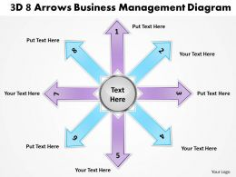 powerpoint templates download management diagram Arrows Process Software Slides