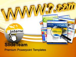 Powerpoint Templates Education Theme Address Communication Business Ppt Process