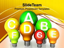 Powerpoint Templates For Education Energy Efficiency Concept Process Ppt Slides