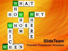 powerpoint_templates_for_school_crossword_metaphor_teamwork_ppt_backgrounds_Slide01