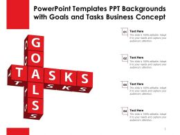 Powerpoint Templates Ppt Backgrounds With Goals And Tasks Business Concept