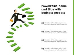 Powerpoint Theme And Slide With Business Success