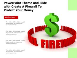 Powerpoint Theme And Slide With Create A Firewall To Protect Your Money