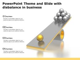 Powerpoint Theme And Slide With Disbalance In Business